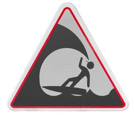 surf, mer forte, danger