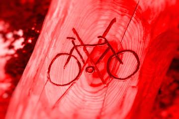 Radfahrer Verboten !