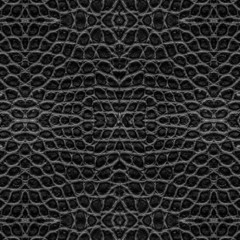 black crocodile skin pattern