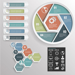 infographic design.vector  illustration