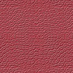 red textured background based  on snake skin