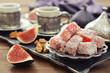 Turkish delight with coffee - 69521495