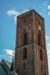 canvas print picture - Kirchturm Ribe Dänemark
