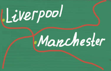 liverpool manchester concept