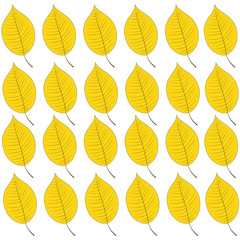 Background of autumn leaves. Raster