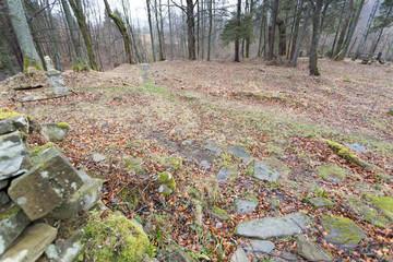 Abandoned willage