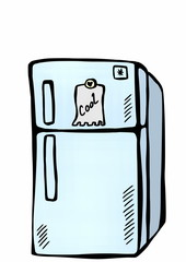 doodle refrigerator