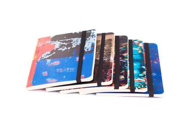 Set of copy books.