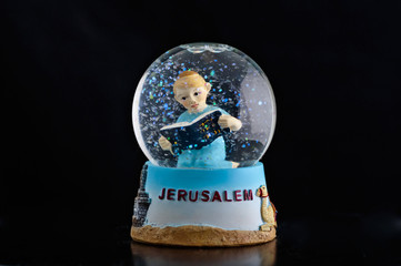 Jerusalem snow globe
