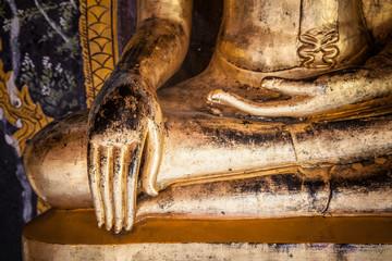 buddha statue detail