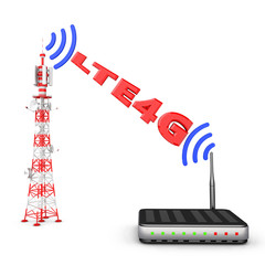 tower and modem