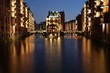 canvas print picture - Hamburg Speicherstadt