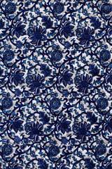 The patterned blanket