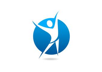 Leadership success logo