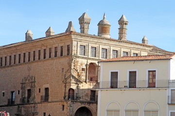 Palace of the Dukes of Saint Charles, Caceres, Trujillo, Spain