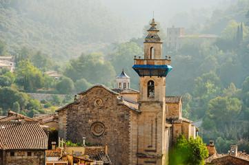 Panoramic view of Valdemossa in Majorka
