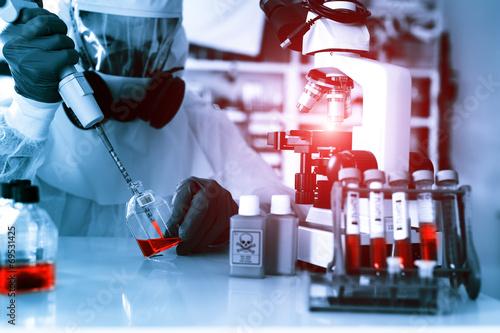 Laboratory examination of Ebola. - 69531425