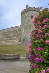 Medieval Windsor castle in Berkshire, England.
