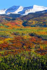 Kebler pass in autumn