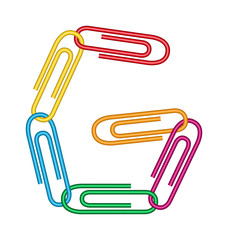 letter g with clips