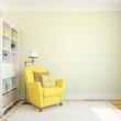 canvas print picture - Modern interior.