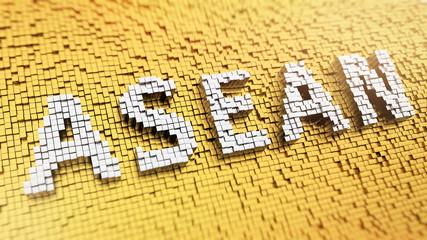 Pixelated ASEAN