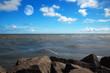 canvas print picture - ocean horizon