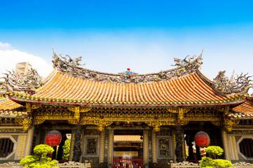 Mengjia Longshan Temple  in Taipei, Taiwan
