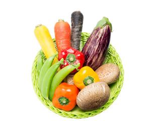 かごの野菜