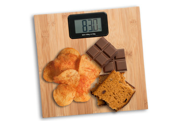 Unhealthy food causes overweight