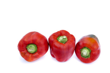 Red pepper from ecological agiculture.