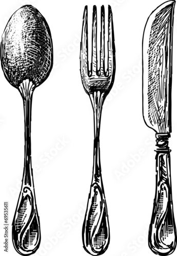 eating utensil - 69535611