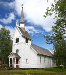 Ankarede Chapel - Lappland, Sweden