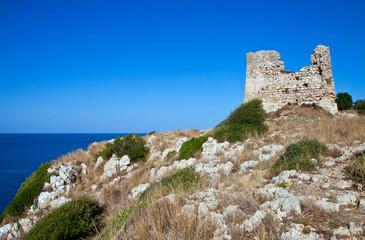 Uluzzo watchtower, Salento, Italy