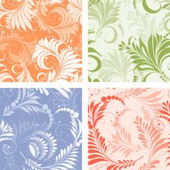 floral decorative patterns