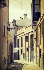 Street in Palma de Mallorca, Spain