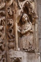 Particolare scultura Cattedrale di Altamura