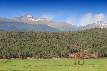 Rocky Mountains, Colorado. United States.