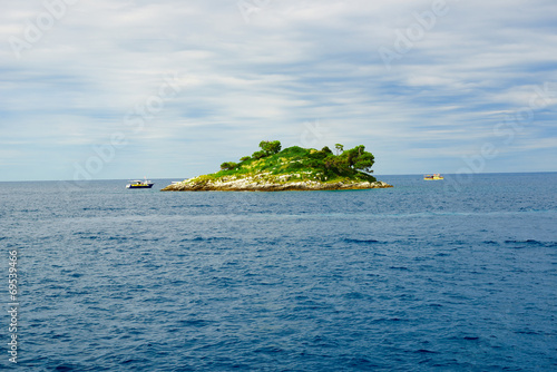 canvas print picture insel