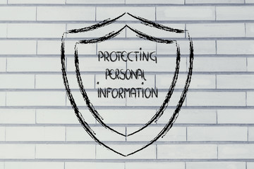 shield for internet security and the risks for confidential info