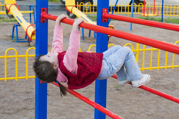 child on the playground