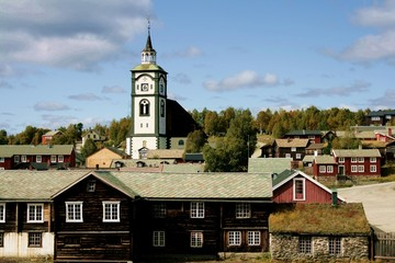 Old mining town Røros Norway