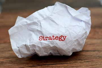 Broken strategy