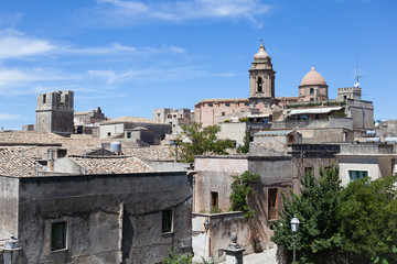 Erice-Trapani-Sicilia