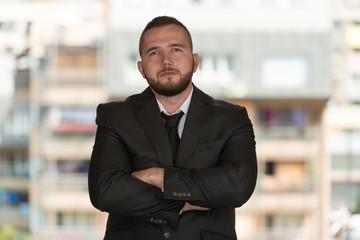 Portrait Of Confident Young Architect