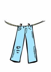 doodle jeans