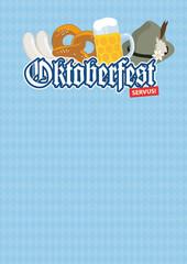 Oktoberfest Plakat Werbung