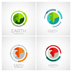 Earth company logo design