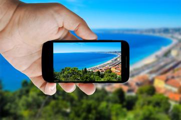 Nissa smartphone picture