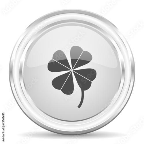canvas print picture four-leaf clover internet icon